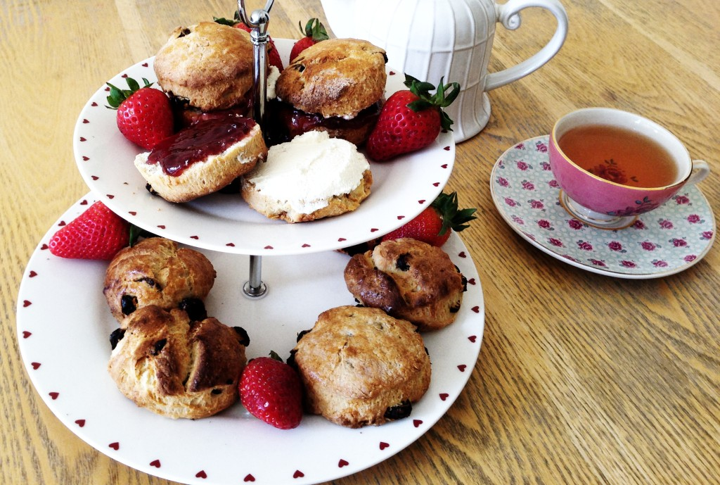 Jam Fruit Scones
