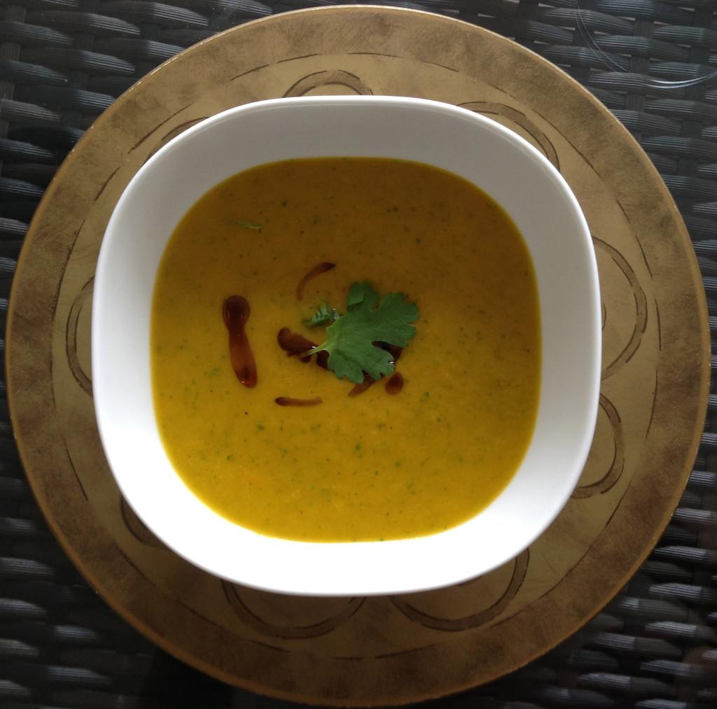 Michael's Carrot & Coriander Soup