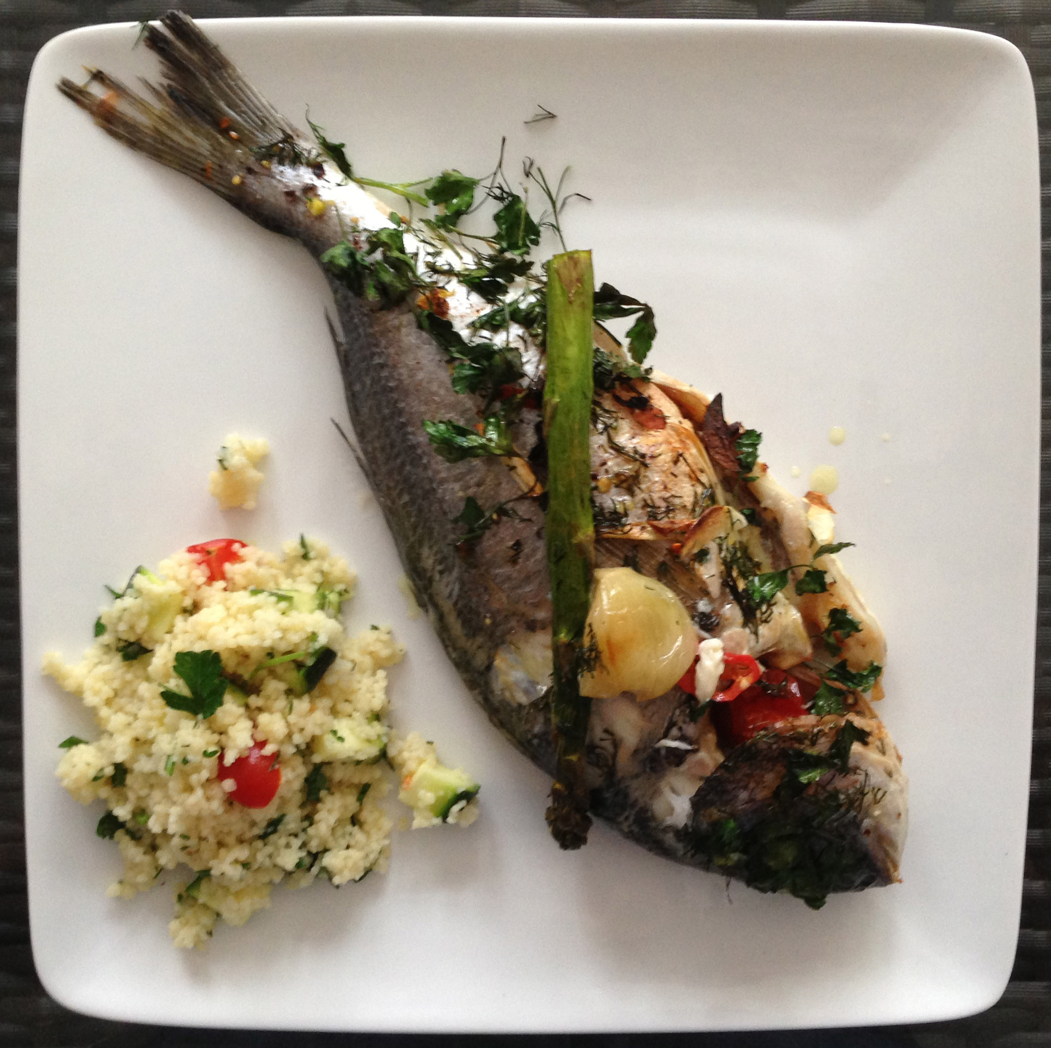 baked whole sea bream recipe pescetarian kitchen