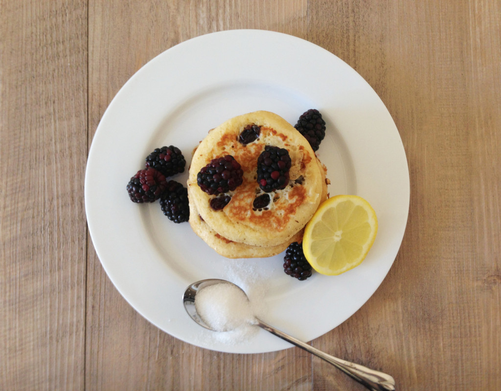 Lemon and Raisin Pancakes