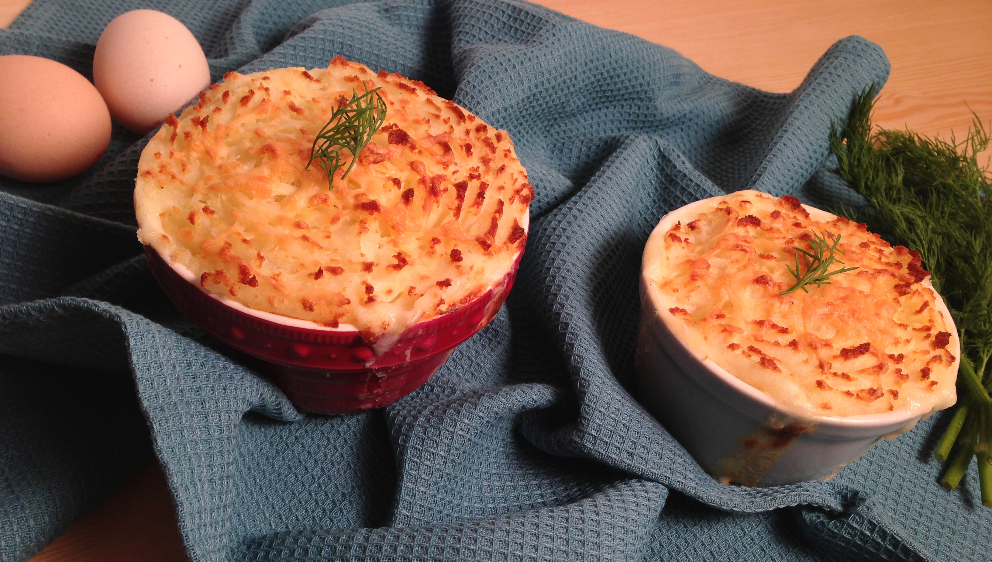Salmon Potato Pies