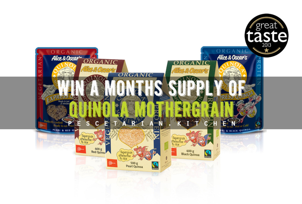 Win a Month's Supply of Quinola Mothergrain