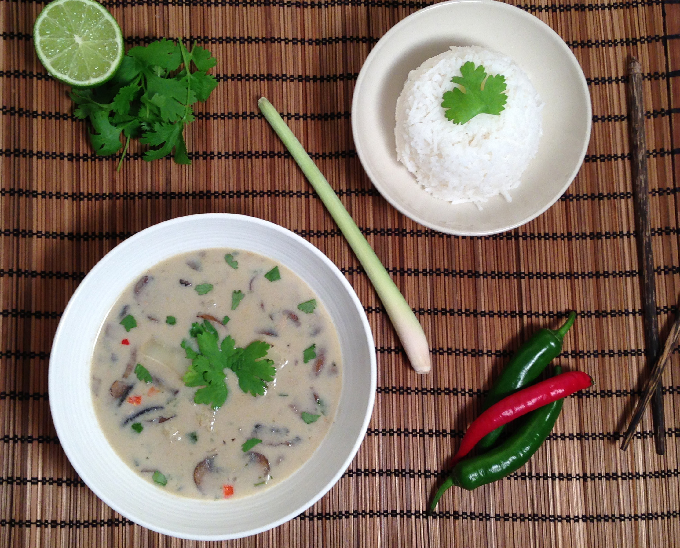 Veggie Thai Green Curry