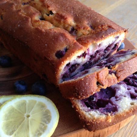 Fresh Blueberry and Lemon Loaf