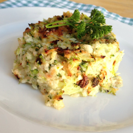 The Most Awesome Cauliflower & Broccoli Cheese Recipe