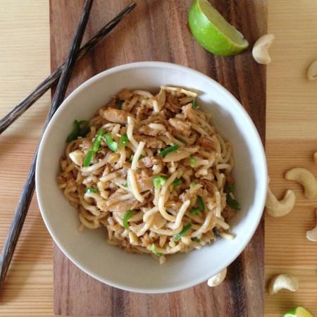 Spicy Oriental Crab Noodles