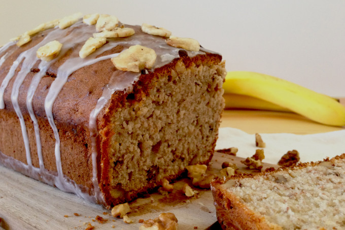Banana and Walnut Loaf