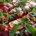 Homemade Vegetarian Pizza