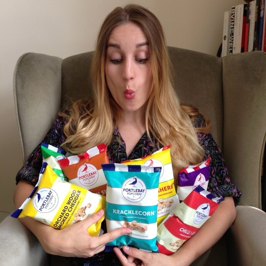Win a Three Month's Supply of Portlebay Popcorn