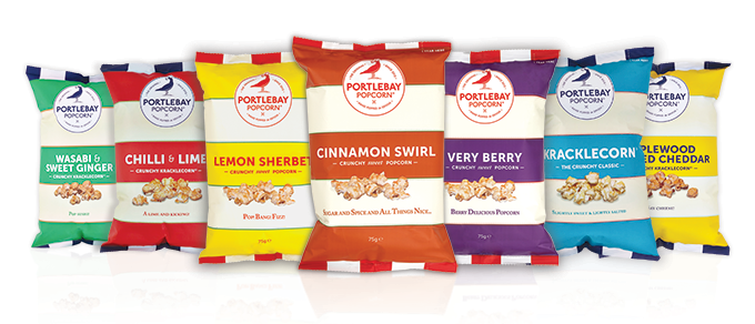 Win a 3 Month's Supply of Portly Bay Popcorn @ Pescetarian Kitchen