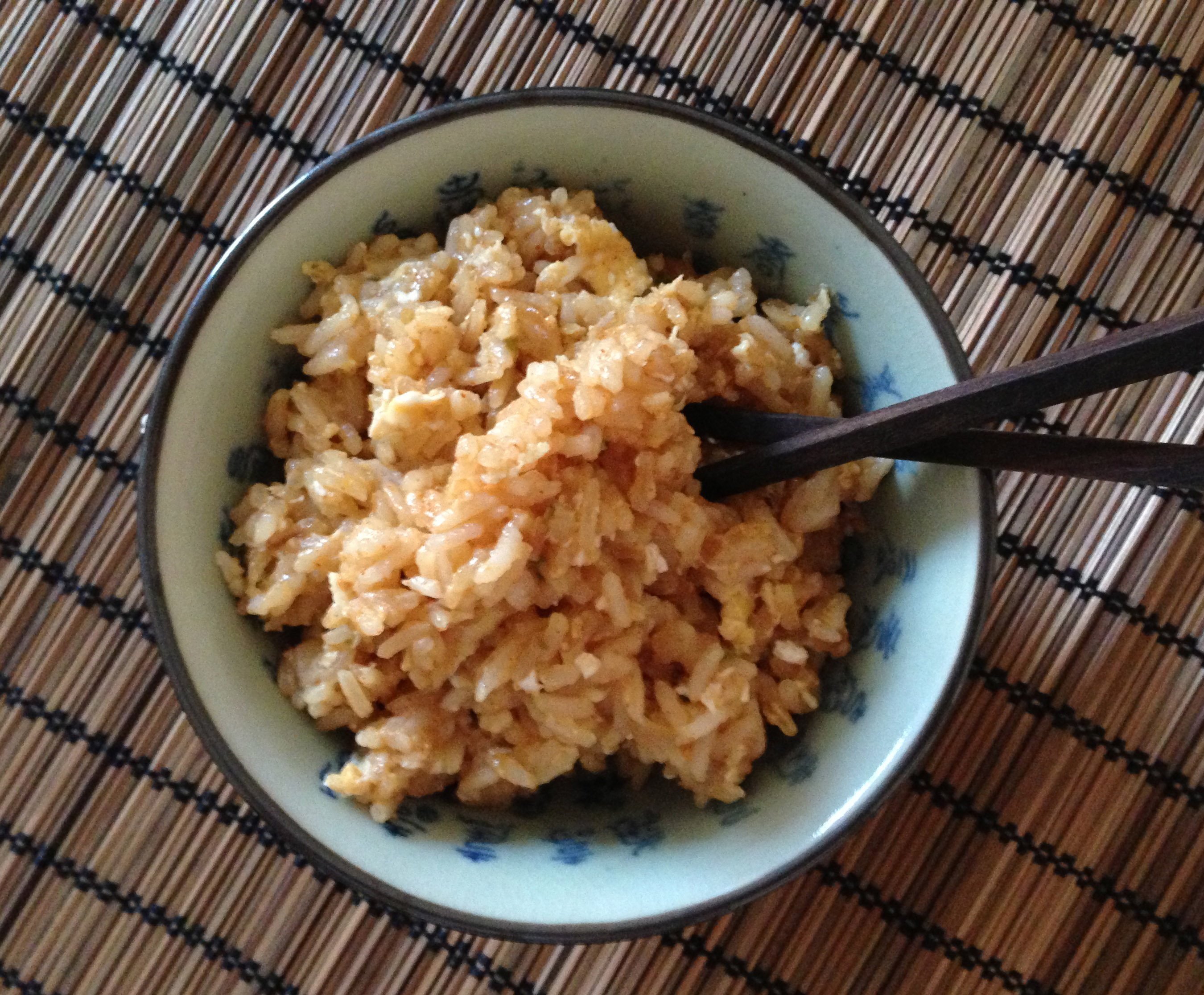Healthy Spicy Egg Fried Rice