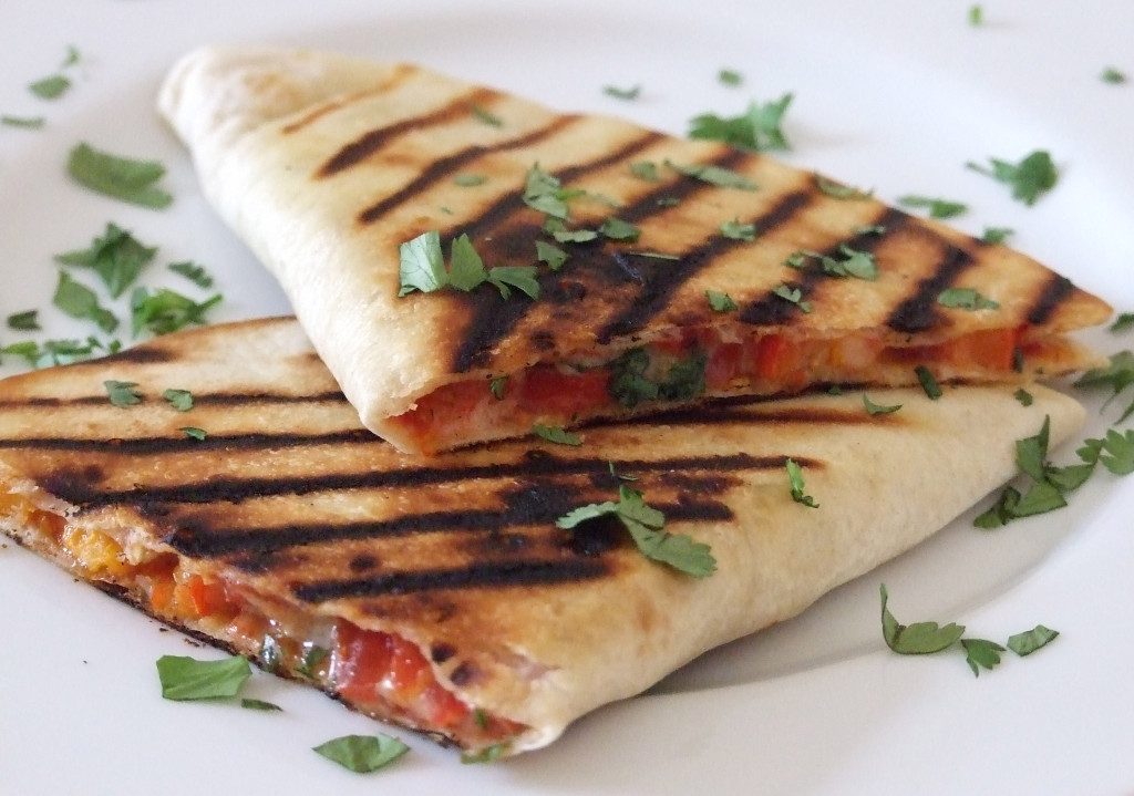 Vegetarian Quesadilla with Cheese