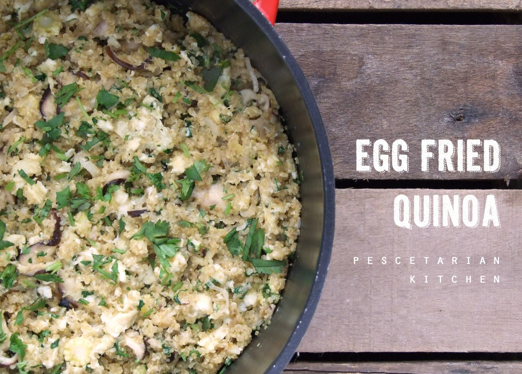 Egg Fried Quinoa Recipe