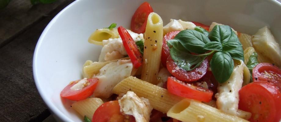Organic Caprese Pasta Salad