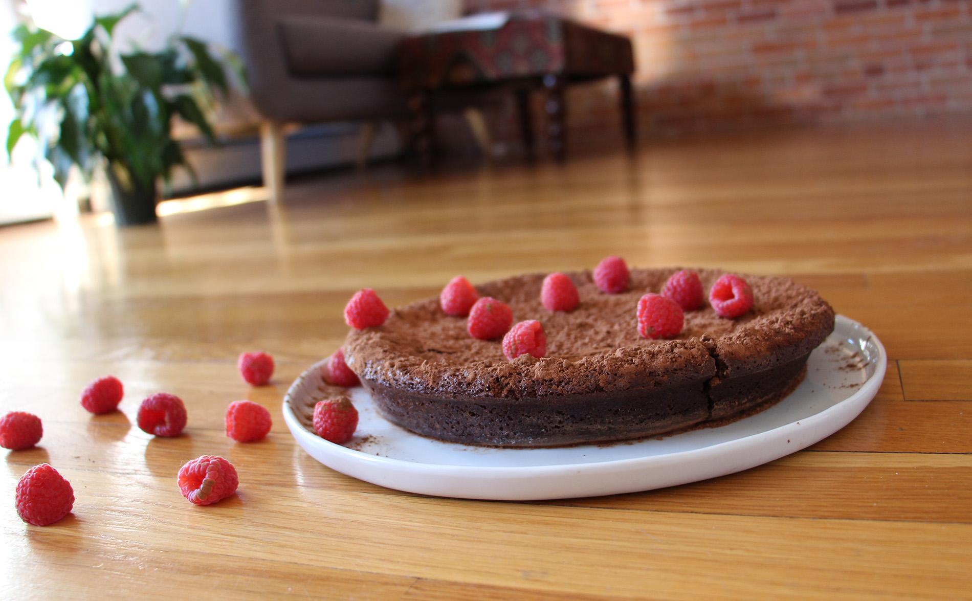 Gluten Free Flourless Chocolate Torte Recipe from Pescetarian.Kitchen