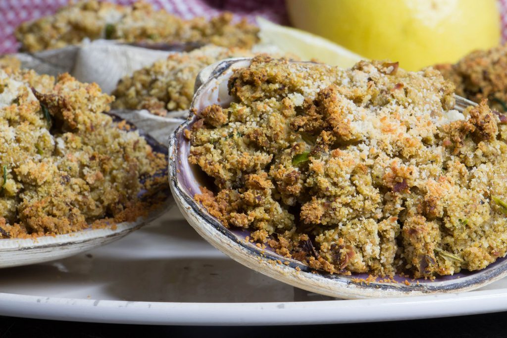 New England Stuffed Clams