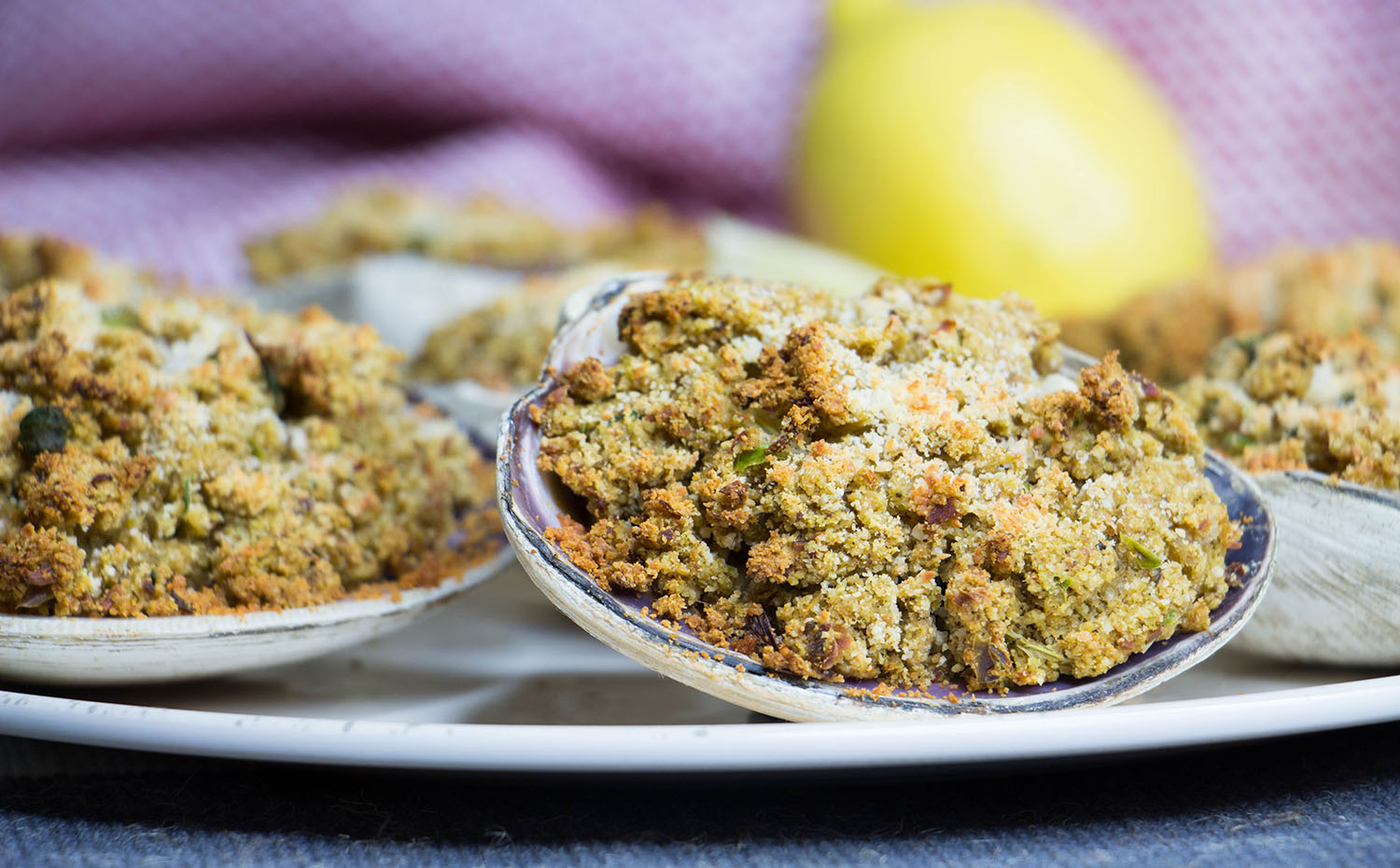 New England Stuffed Clams Recipe from Pescetarian.Kitchen