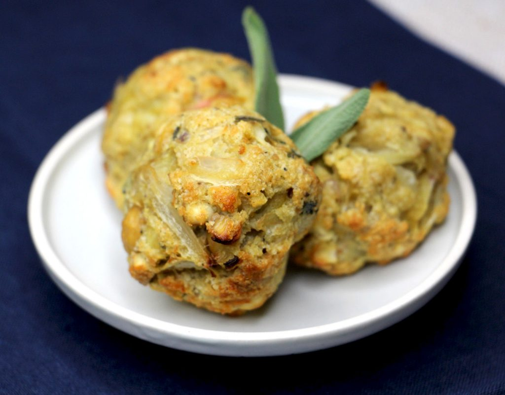 Sage, onion and chestnut stuffing balls