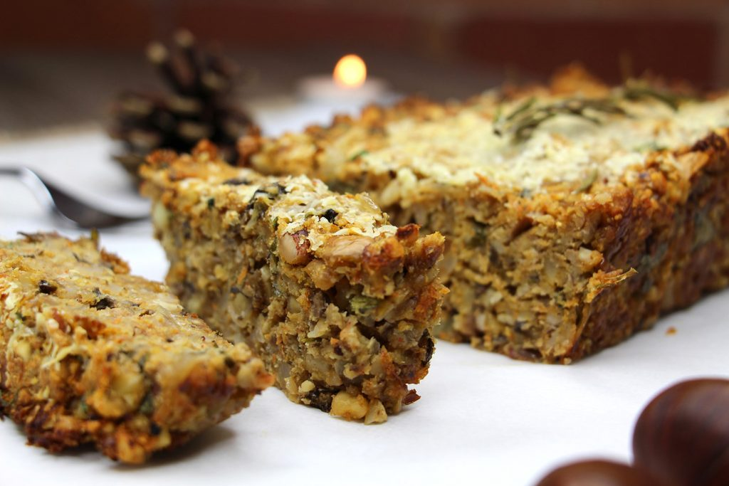 Christmas nut roast recipe