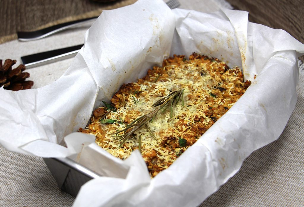 festive nut roast recipe