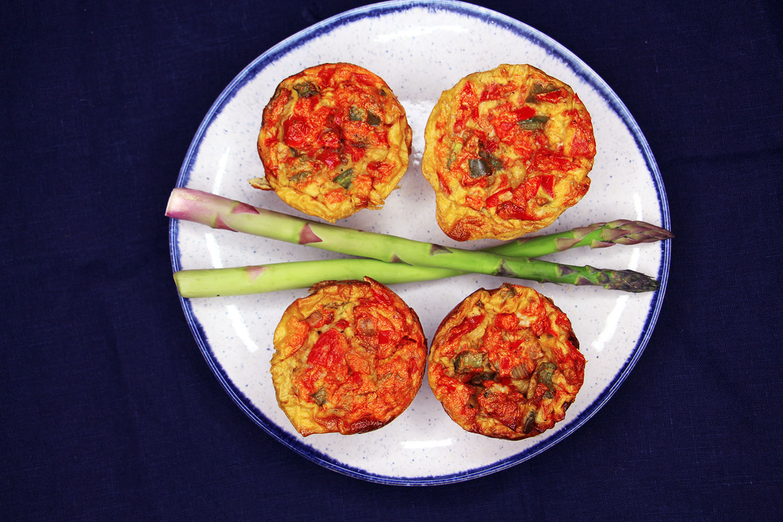 Spanish Style Egg Muffins