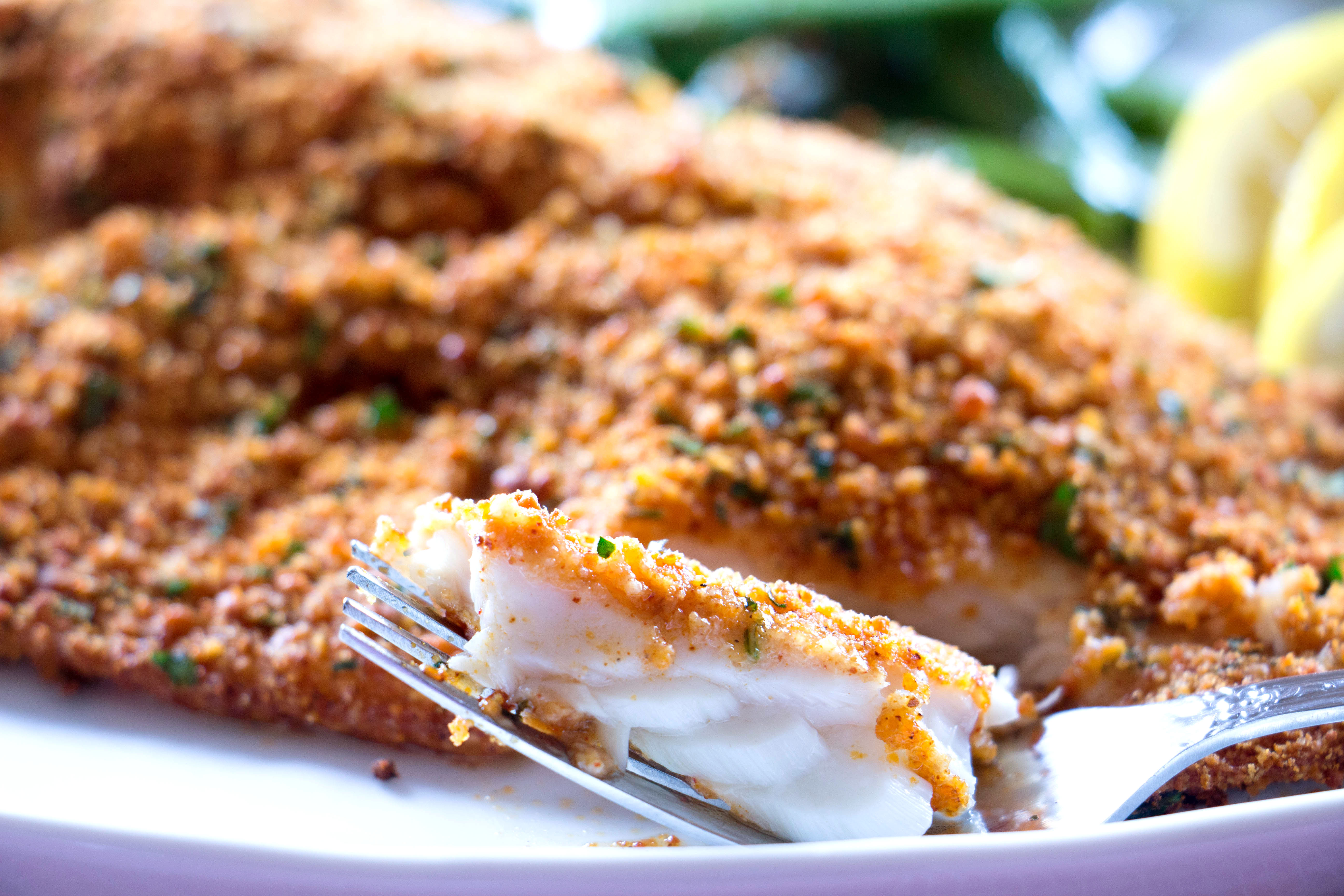 Baked Tilapia with Parmesan Crust Recipe from Pescetarian ...