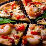 Seafood Flatbread