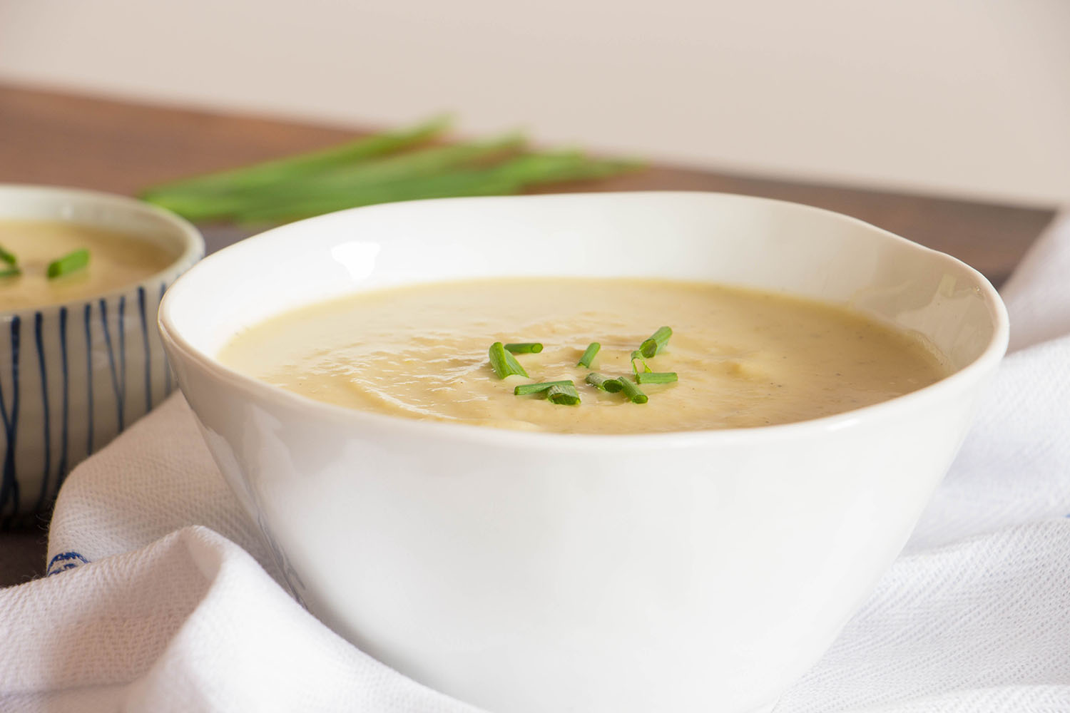 how to cook leek and potato soup
