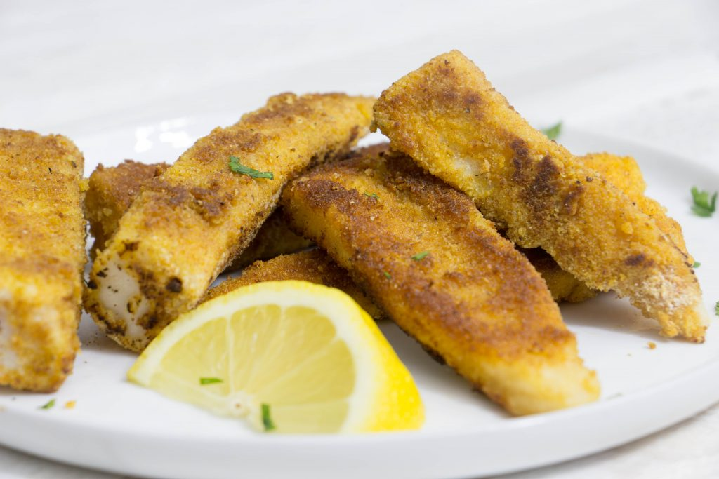Tilapia fish sticks