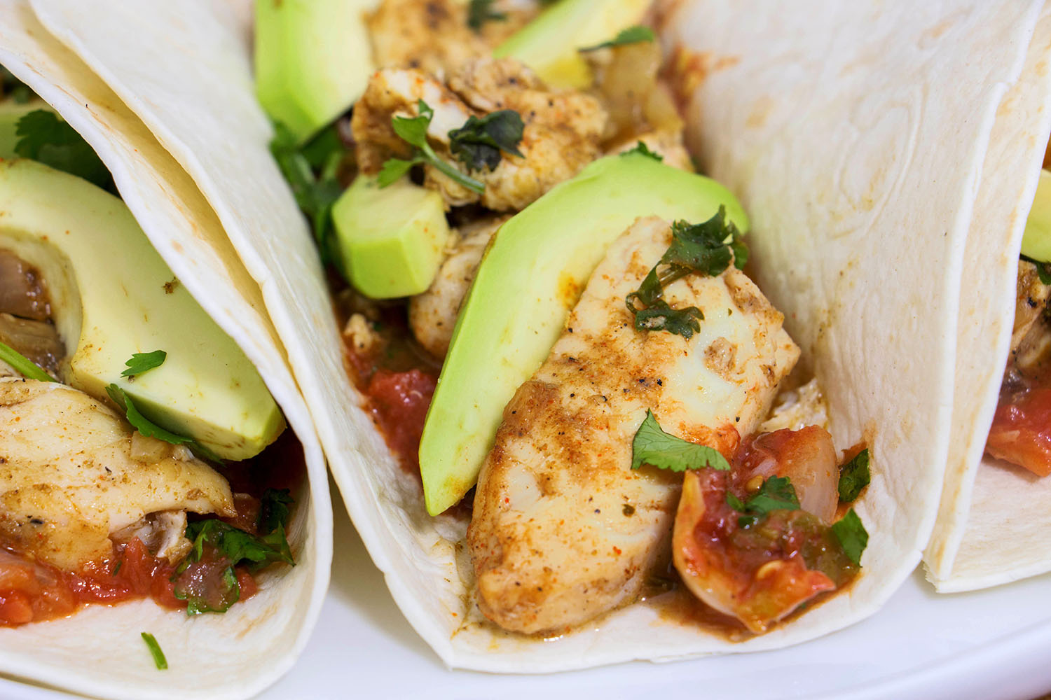 Tilapia fish tacos recipe from pescetarian kitchen for Fish burrito recipe
