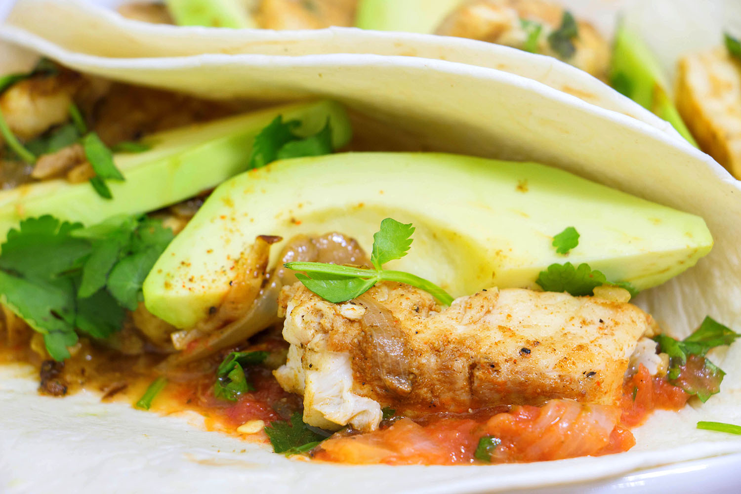 Tilapia fish tacos recipe from pescetarian kitchen for White fish tacos