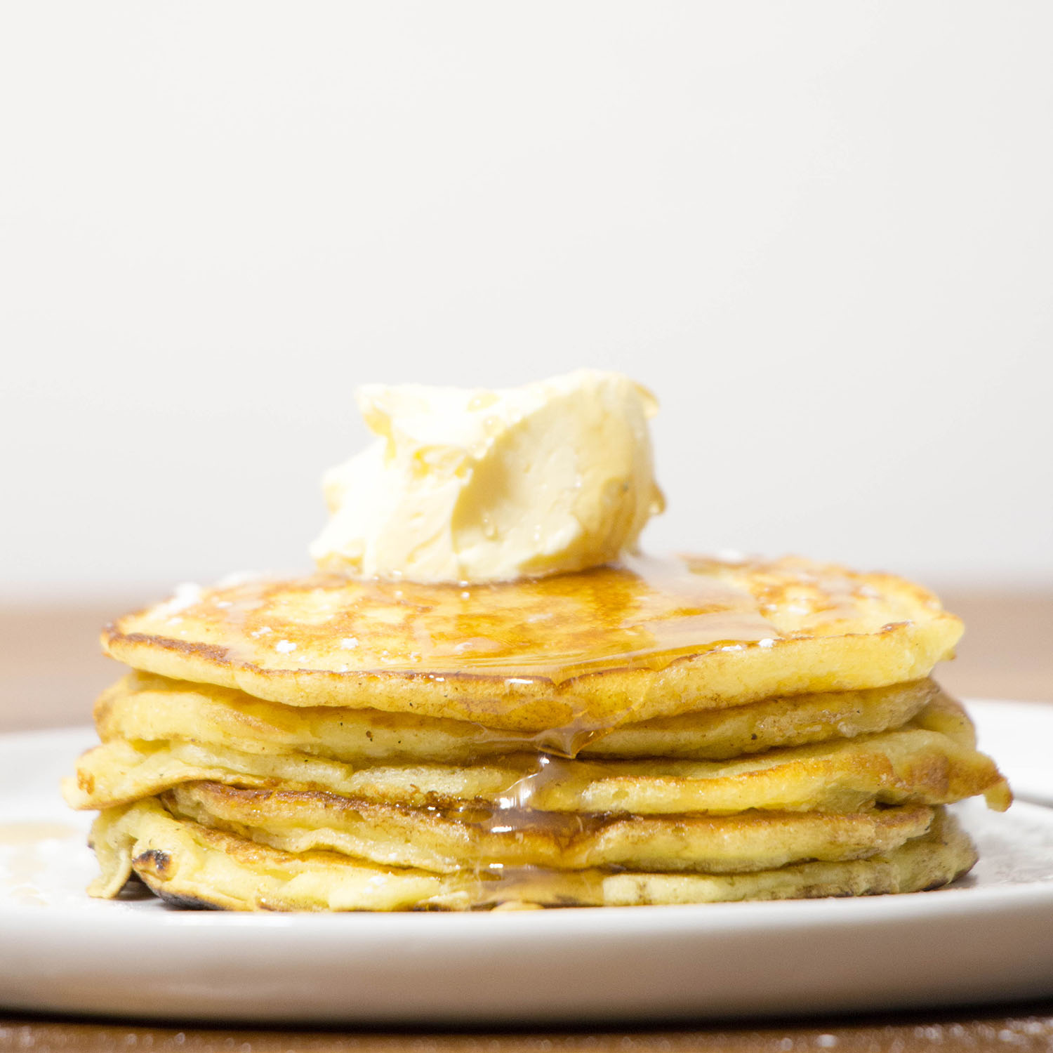 how to make whipped butter for pancakes