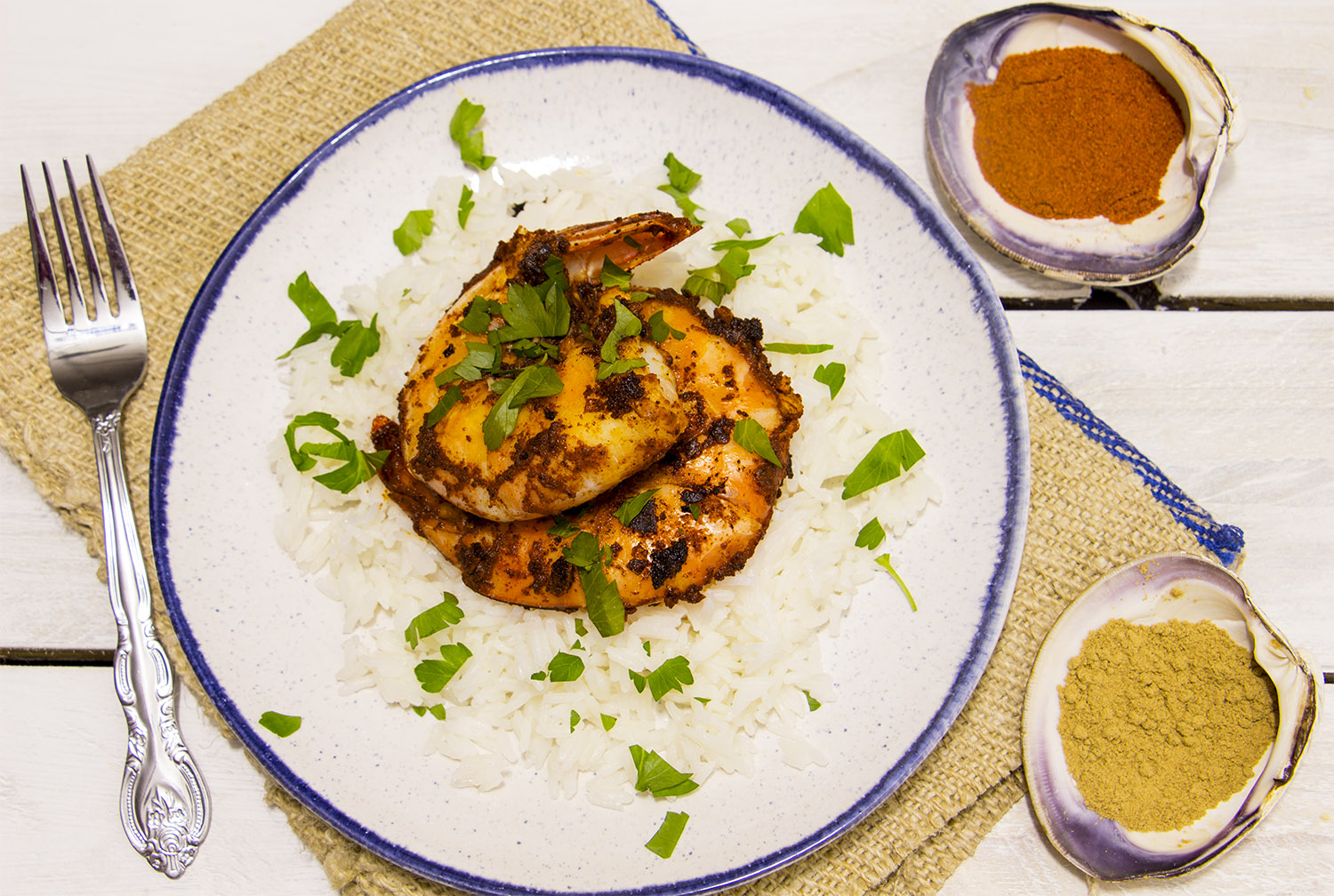 Curried Masala Shrimp Recipe - Pescetarian Kitchen