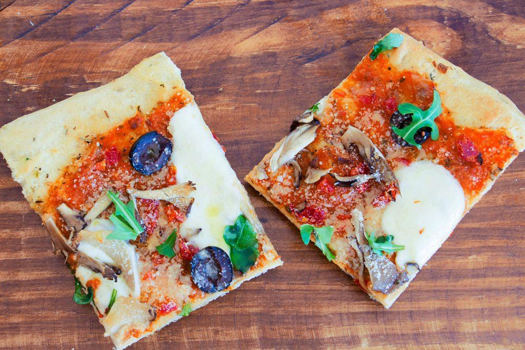 focaccia bread pizza