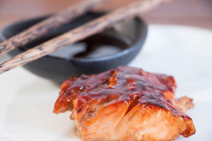 Teriyaki Glazed Salmon