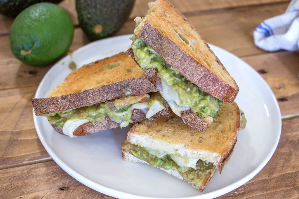 Guacamole grilled cheese 3