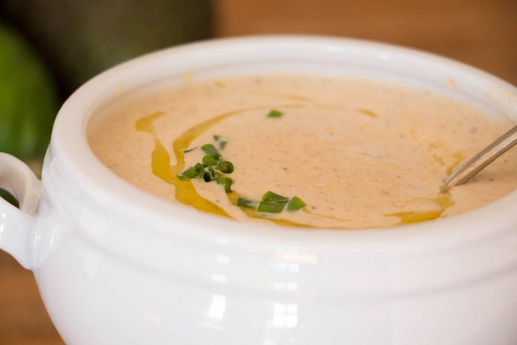 Roasted Cauliflower Soup 1
