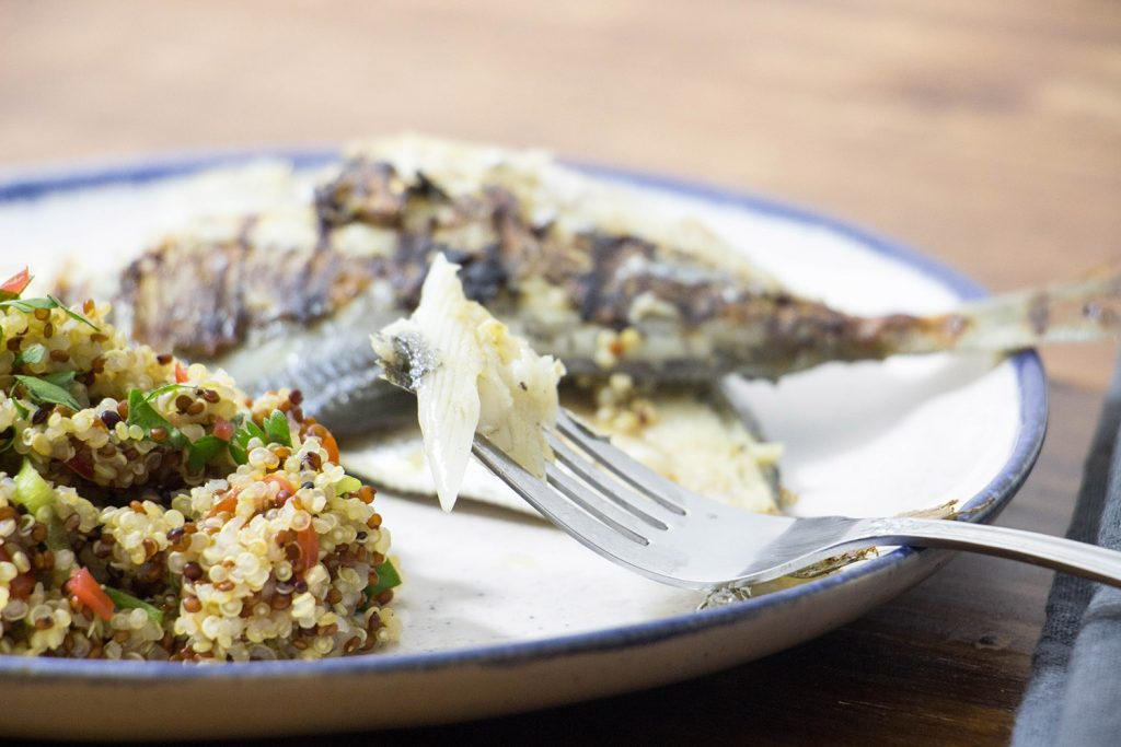 griddled butterfish and quinoa 2