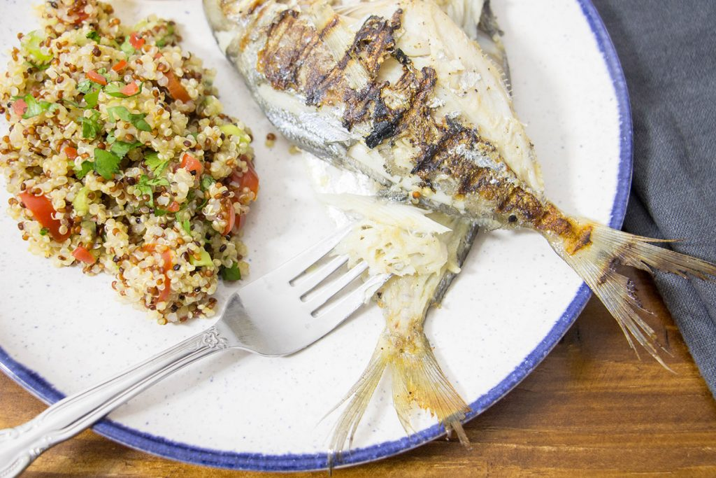 griddled butterfish and quinoa 3