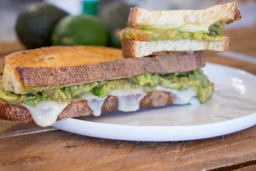 guacamole grilled cheese 1