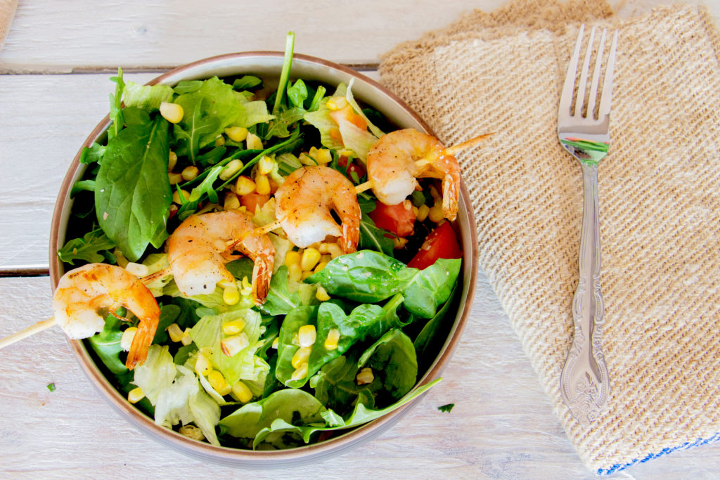 Fresh & Healthy Lemon Shrimp Salad